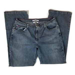 Tommy Hilfiger Low Rise Flair Jeans Size 14